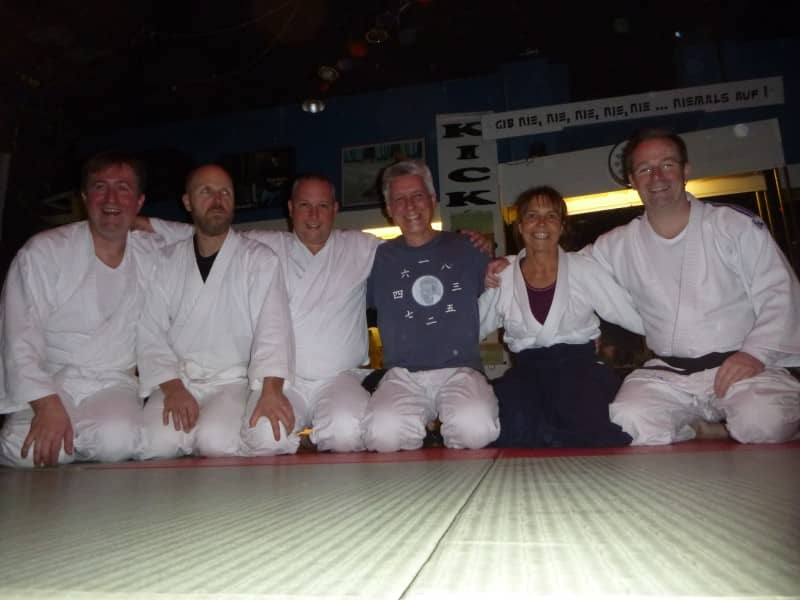 gruppenbild 2018 aikido gelnhausen